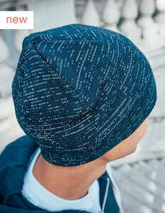 Atlantis Shine Beanie Mütze recyceltes (rPet) Polyester mit Reflexfäden - Atlantis Headwear
