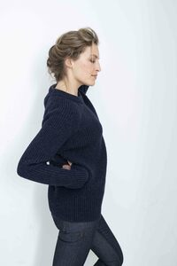 Easy Going Sweater - Strickpullover - vertikales Rippenmuster  - Loop.a life
