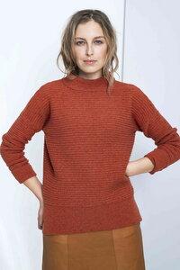 Every day Sweater - horizontaler Rippeneffekt - Loop.a life