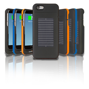 Surfr Solar-Ladehülle für iPhone 6 - Ascent Enerplex