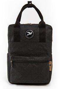 Rucksack aus Papier robust wasserfest vegan 2 in 1 Handtasche Damen - PAPERO