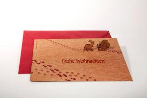Pop-Up Briefkarte Santa - Formes