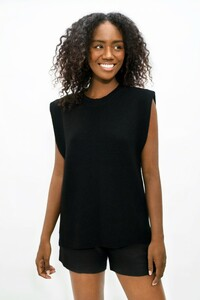 Napoli NAP - High-Neck Knitted Top - 1 People