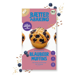 Backmischung Blaubeer Muffins - Baetter Baking