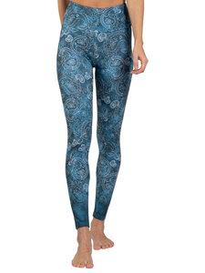 Yoga Leggings ARABESKE aus Komfort- Stretch mit Tasche - Magadi
