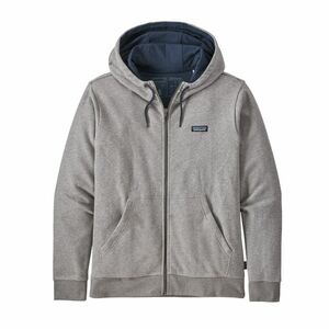 Men's P-6 Label French Terry Full-Zip Hoody - Patagonia
