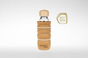 Trinkflasche THANK YOU 0,3 Liter hitzebeständig - Nature´s Design