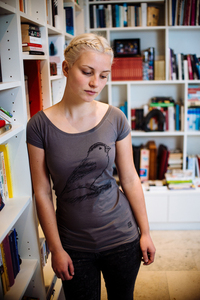 Spatz Damen T-Shirt / Bio Baumwolle & Fair Trade - ilovemixtapes