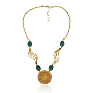 Halskette Bella Bio aus Golden Grass - Aline Celi