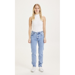 Mom Fit Jeans Iris Light Blue - KnowledgeCotton Apparel