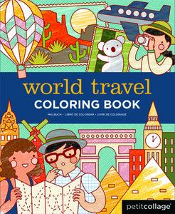 Malbuch Weltreise - Petit Collage
