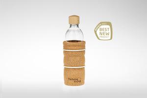 Trinkflasche THANK YOU 0,5 Liter - Nature´s Design