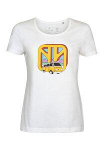 Damen VW-Bulli T-Shirt Worldwide - Elkline