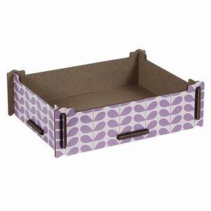 Aufbewahrungsbox aus Holz - Schachtel Holzkiste Holzbox Kiste 24,5 x 18,5 cm - Werkhaus GmbH