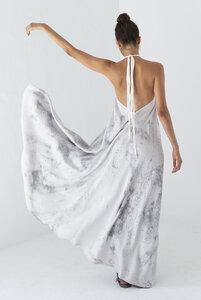 Tencel Maxikleid Einheitsgröße - Multiposition Long Dress Tencel Tye Dye - Suite 13