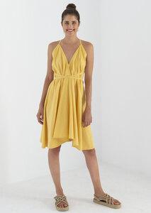 Kleid Midi Einheitsgröße - Multiposition Dress Short - Bio-Baumwolle & Leinen  - Suite 13