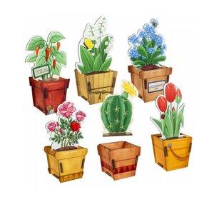 Geschenkverpackung Geschenkbox aus Holz - Blumen & Pflanzen - Werkhaus GmbH