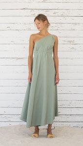 Kleid Maxi Einheitsgröße - Multiposition Dress Long - Bio-Baumwolle & Leinen  - Suite 13