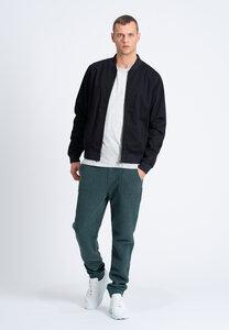 Herren Jacke aus Bio Baumwolle schwarz   Men Canvas Jacket - recolution