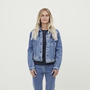 Jeansjacke Hana Denim Jacket - KnowledgeCotton Apparel