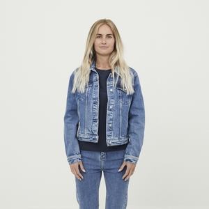 Jeansjacke Hana Denim Jacket - KnowledgeCotton Apparel