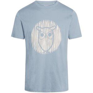 T-Shirt ALDER Outline Eule - KnowledgeCotton Apparel