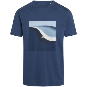 T-Shirt ALDER Surf Print - KnowledgeCotton Apparel