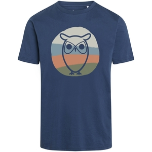 T-Shirt ALDER Colored Eule - KnowledgeCotton Apparel