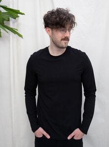 Tencel jersey long sleeve t-shirt - STUDIO JUX