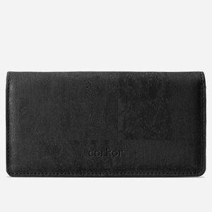 Kork Langes Portemonnaie Slim - corkor