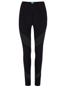 Energy Legging aus Biobaumwolle. Color Block Edition - nice to meet me