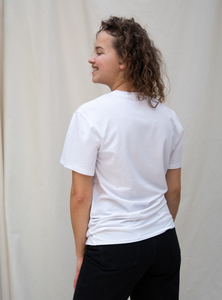 Tencel jersey crewneck t-shirt - STUDIO JUX