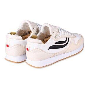 Sneaker - G-Iduna - Pinatex Khaki/White/Black - Genesis Footwear