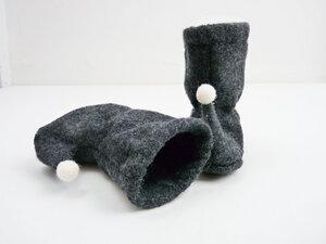 Baby Wolle Tragestiefelchen Filzstiefelchen - Ulalü
