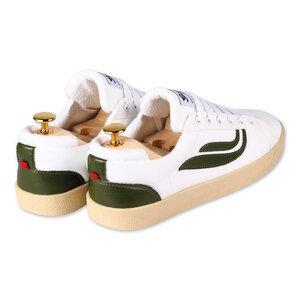 Genesis - G-Helá Pet-Mesh Cactus - White/Forrest - Genesis Footwear