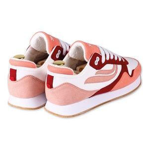 Sneaker - G-Iduna Eco-Microfibre PET - Orange White Rose - Genesis Footwear