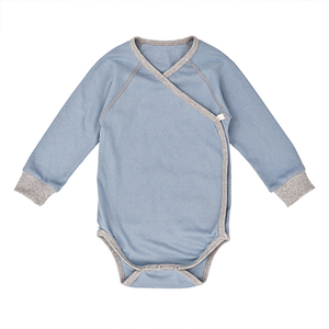 Nipp Wrap Sleeve Body blau - Nipparel kids clothing