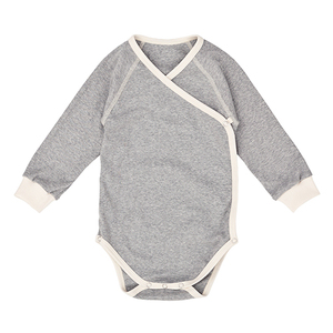 Nipp Wrap Sleeve Body grau - Nipparel kids clothing
