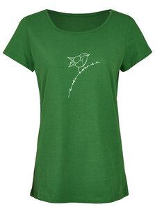 Basic Bio T-Shirt (ladies) Nr.2 Rotkehlchen - Brandless
