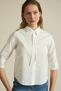 3/4 Arm Bluse aus Bio-Baumwolle - LANIUS