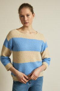 3/4 Arm Pullover aus Alpakawolle - LANIUS