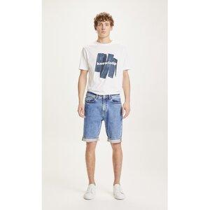Jeansshorts - Oak light blue denim shortsb - aus Bio-Baumwolle - KnowledgeCotton Apparel