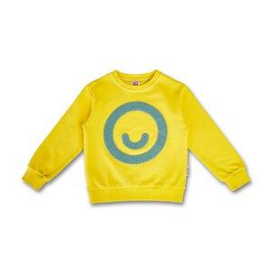 Kinder Smiley Sweatshirt (Bio-Baumwolle, kbA) - Manitober