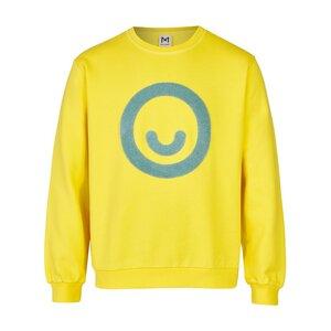 Erwachsenen Unisex Smiley Sweatshirt (Bio-Baumwolle, kbA) - Manitober