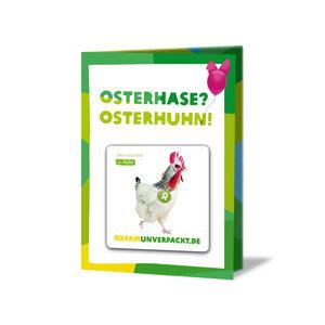 Osterhuhn - OxfamUnverpackt