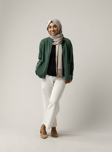 Damen Sweatshirt-Jacke UMA - Fairtrade Cotton & GOTS zertifiziert - MELAWEAR