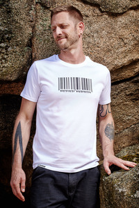 Barcode T-Shirt for Men - awear