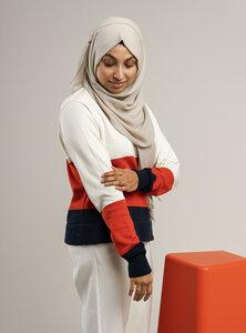 Damen Feinstrick-Pullover ILA - Fairtrade Cotton & GOTS zertifiziert - MELAWEAR