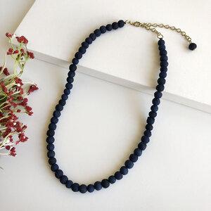 Kantha Necklace Indigo classic Strand - Worldfinds