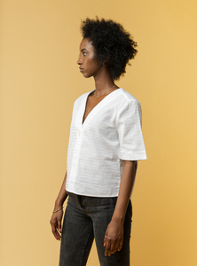 Damen Bluse NALA - Fairtrade Cotton & GOTS zertifiziert - MELAWEAR